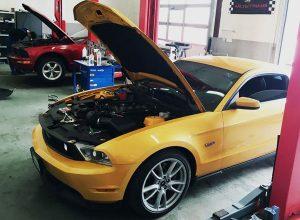 перепрошивання двигуна Ford Mustang